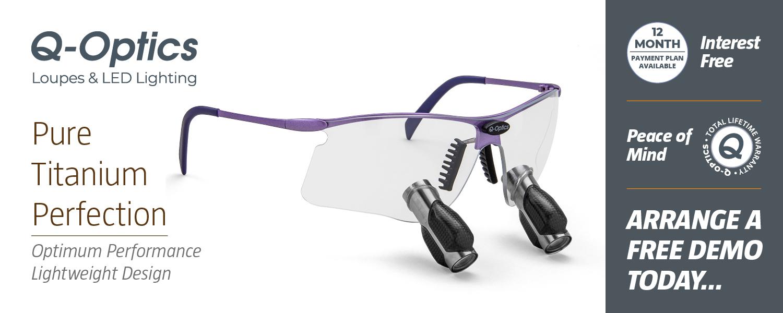 Q-Optics Prismatic Loupes: Optimum Performance, Lightweight Design