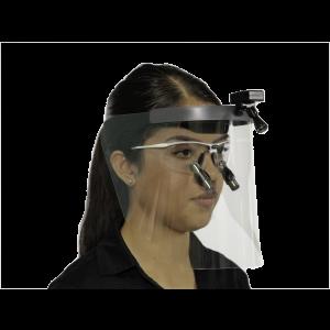 Q-Optics Dental Face Visor with Light Mount