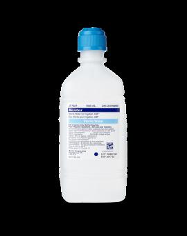 1000ml bottle of Baxter Sterile Water