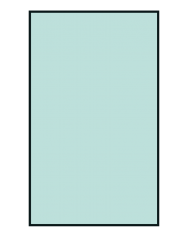 Guardian Plain Drape 75 x 90cm. Ref: 12.88.14 -SD007