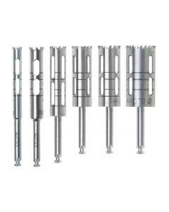 Salvin Long Trephine Drill set