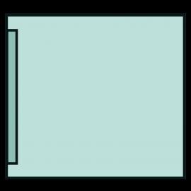 Adhesive Drape 75 x 75cm. Ref: 12.88.01/12022