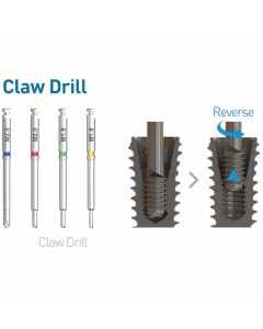 Neobiotech Claw Drill for Screw Removal Kit