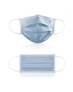 Type IIR Fluid Resistant Surgical Face Mask with ear loop, box 50