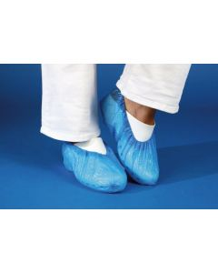 Case of 100 Blue Overshoes