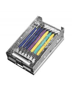 PDT 9  Instrument Cassette, Single Fixed Rack