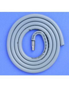 Quality Aspirators Silicone Suction Tubing 5' with Adapter for HV Suction